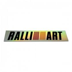 RALLIART RAINBOW STICKER