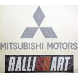 MITSUBISHI RALLIART BONNET...